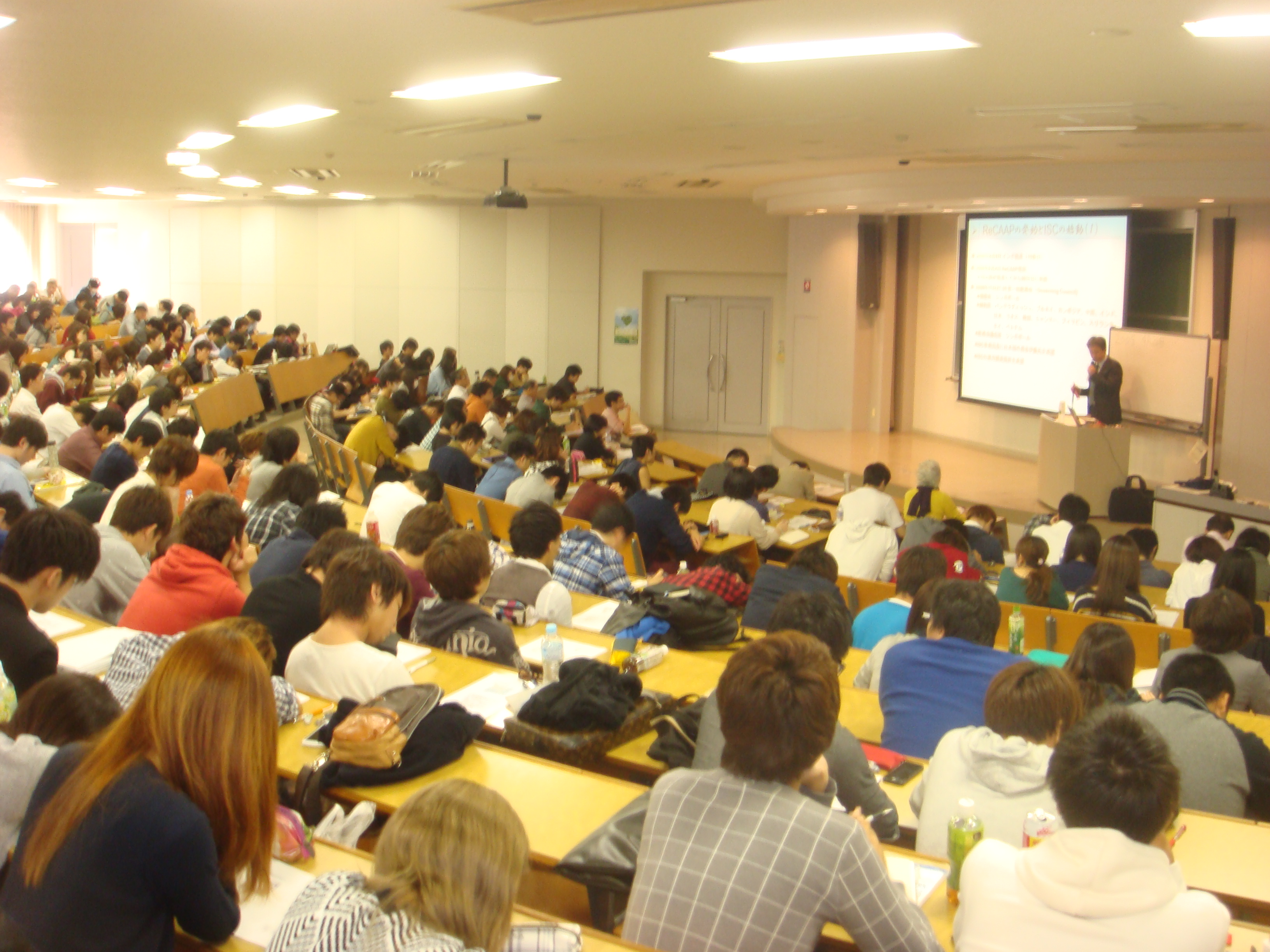 授業の風景2014